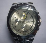 New Mens Silver Quartz Watch For Sale £40 (including postage costs)